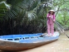 Lady on Mekong Delta