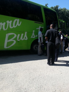 Bus to Santo Domingo from Petionville