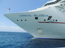 First cruise experience on Carnival Splendor