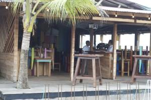 Front of Iguana Bar