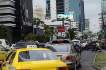 Negotiating with Taxi drivers in Panama City